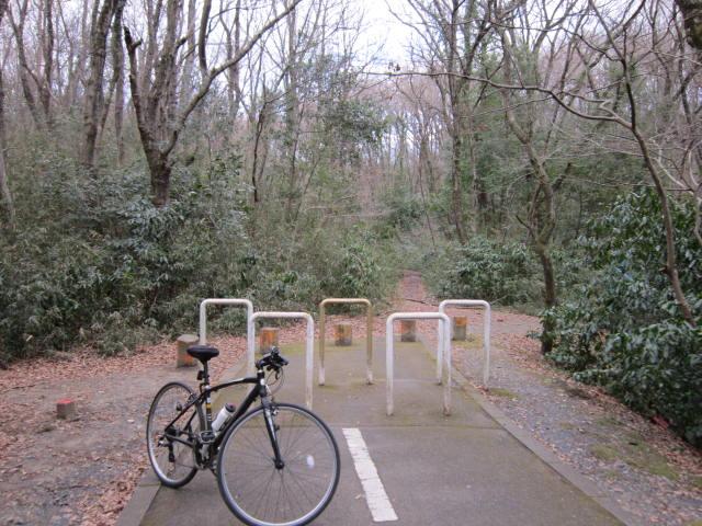 この先にトンネルが... 武蔵野の道・多摩湖コース|くまさんとチャリ