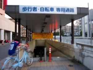 志木駅西側の問題の多い通路(埼玉県志木駅西側)|くまさんとチャリ