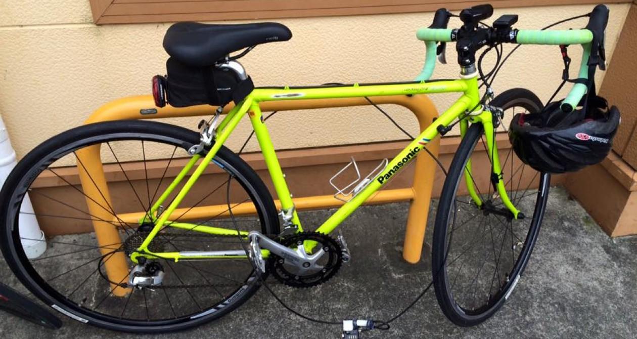 くまさんとチャリ bicycle